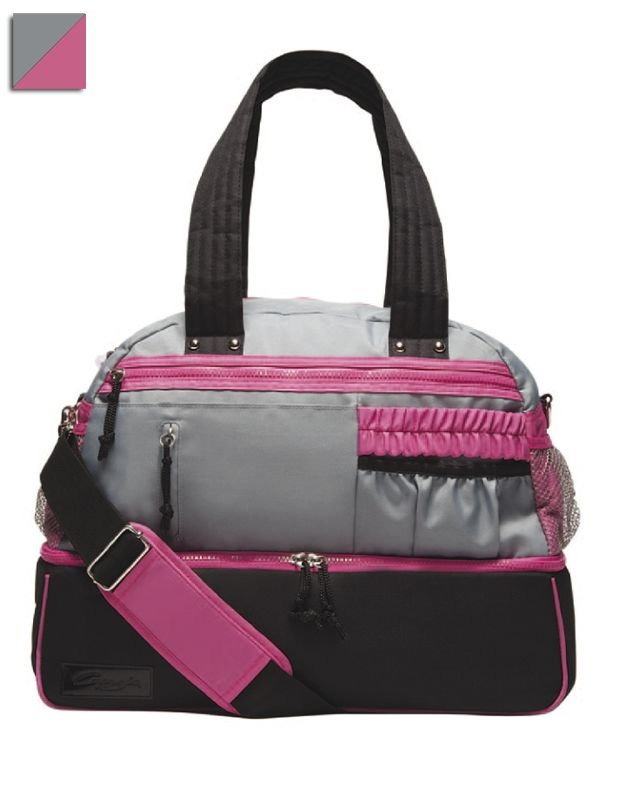 Multi Functional Dance Bag From Capezio With Multiple Storage Compartments For Accessories