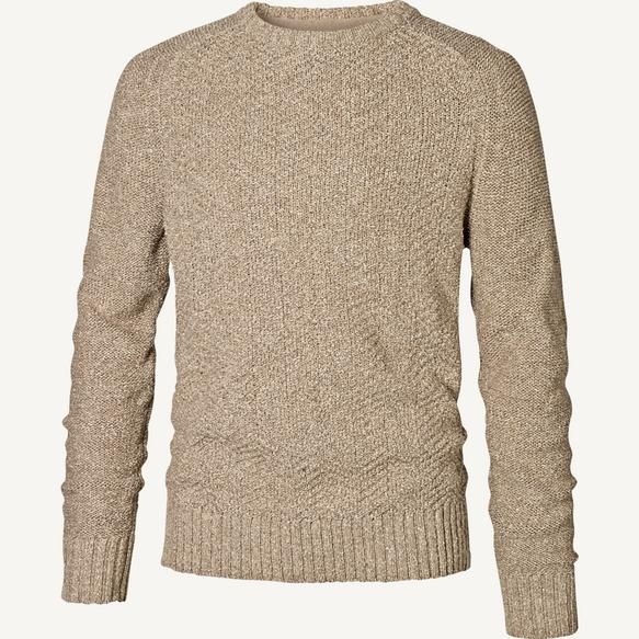 Gosford Textured Crew Knit Fat Face