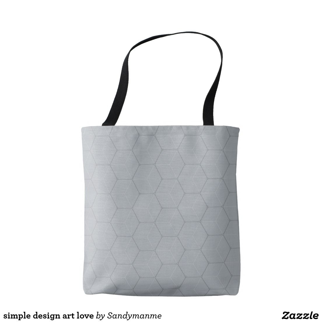 e25a12161a simple design art love Brown Leather Totes