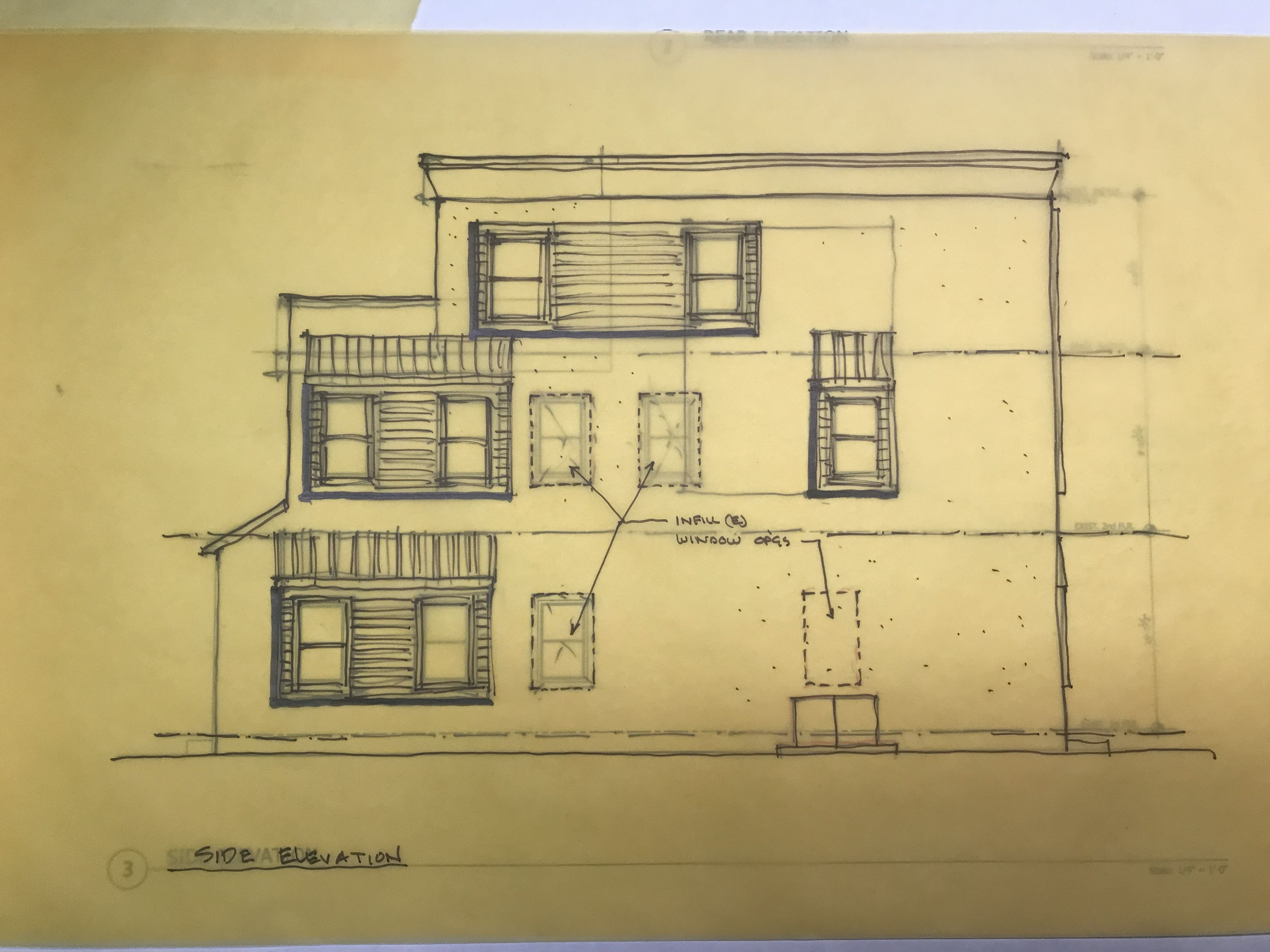 Side Elevation Sketch For This Flip Project