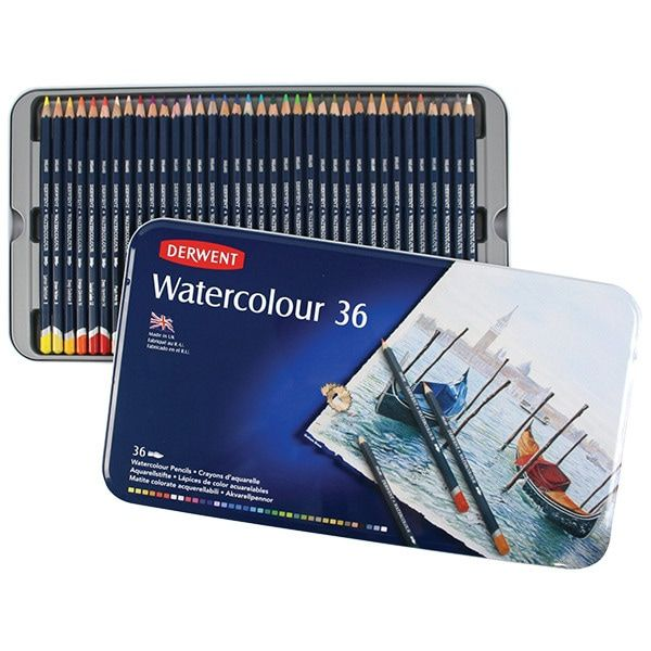 Derwent Watercolor Pencils Review In 2020 Watercolor Pencils
