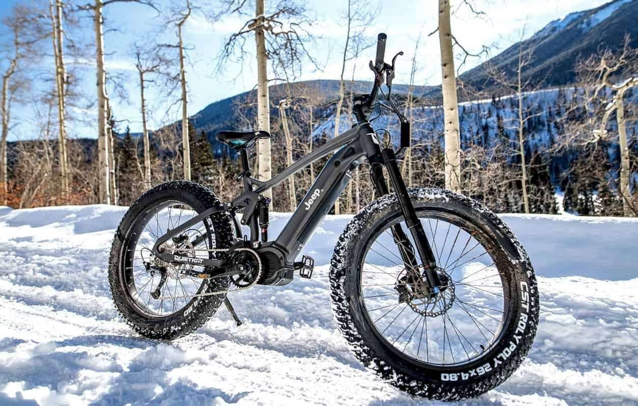 Jeep E Bike All Terrain All Electric It S The Most Capable Off Road Electric Mountain Bike There Is In 2020 Electric Mountain Bike Jeep Electric Bike