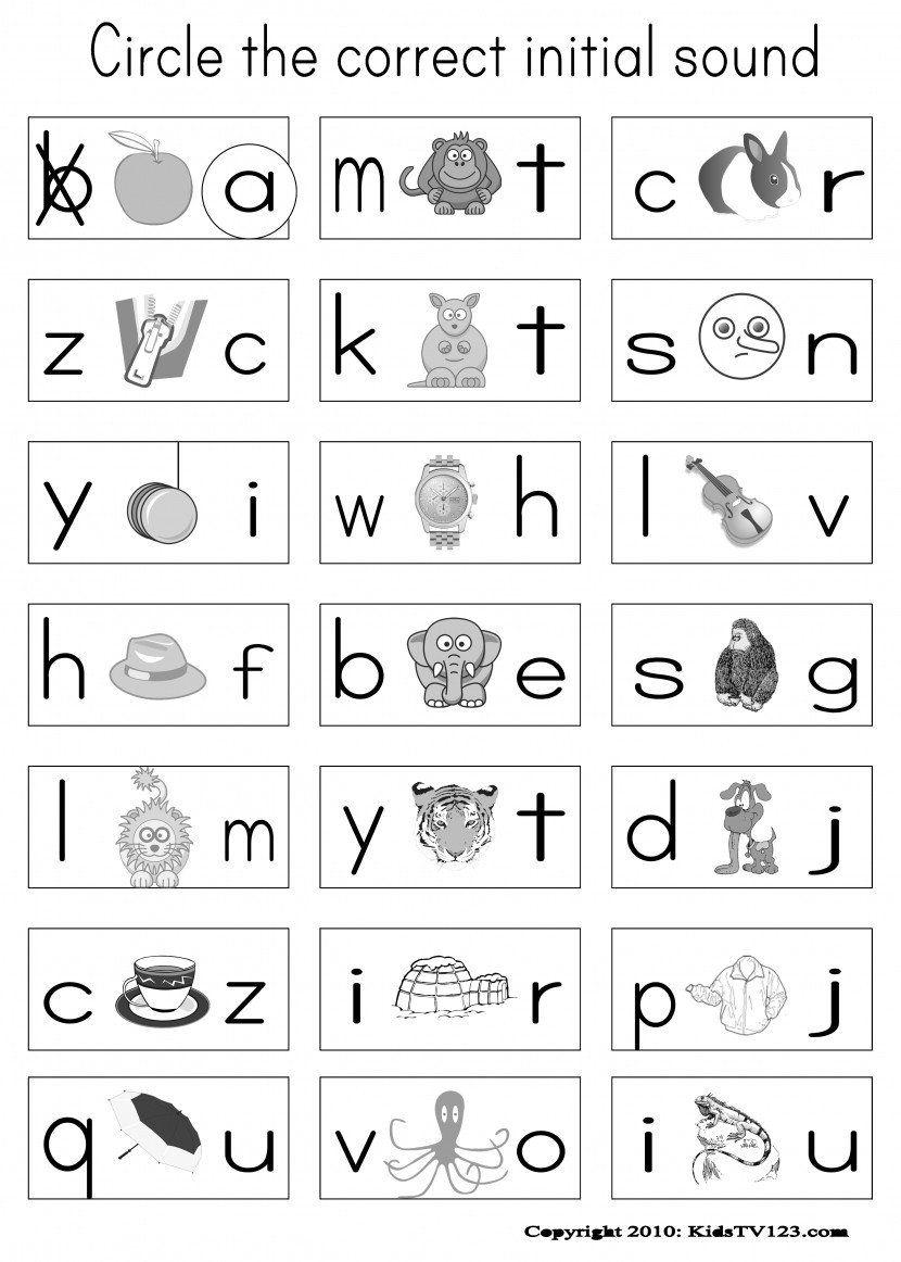 Free Phonics Worksheets Grade 1 Phonics Worksheets for Kindergarten… in  2020   Kindergarten phonics worksheets [ 1162 x 830 Pixel ]
