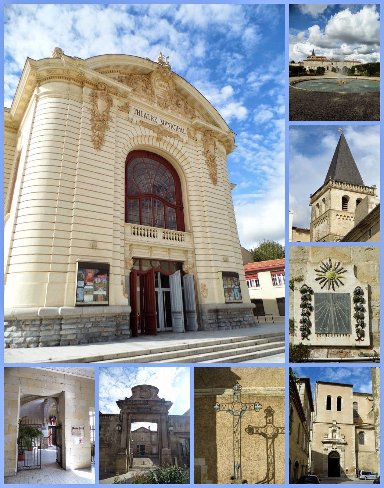 Castres France Dans le détails Le Théatre magnifique  l
