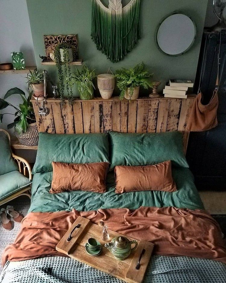Bohemian Style Ideas For Bedroom Decor Design #bohemian