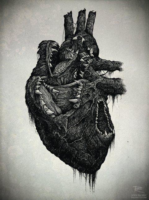 Wolf Heart by Richey Beckett