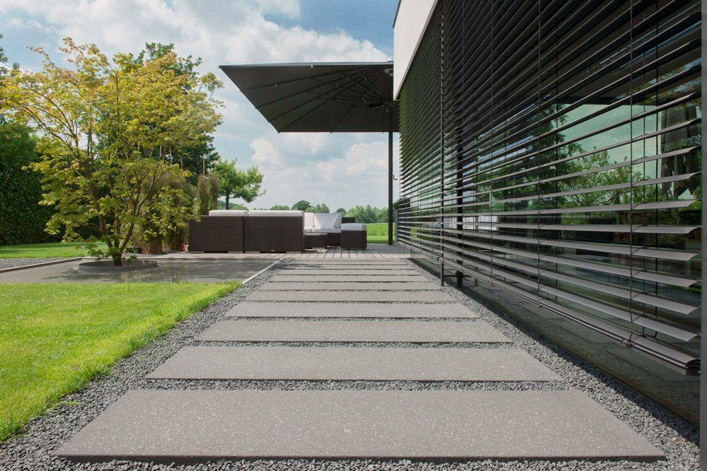 Platten Für Garten : metten xxl platten conceptdesign trittplatte anthrazit ges uert 420 x 120 x ~ Watch28wear.com Haus und Dekorationen
