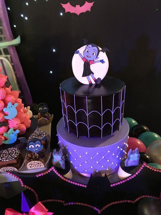 Las más lindas tortas de Vampirina | Torta para fiesta ...