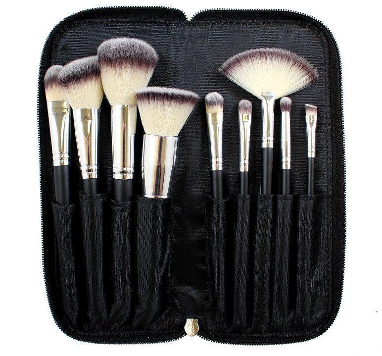 Morphe 9 Piece Deluxe Vegan Brush Set Set 502 Makeup