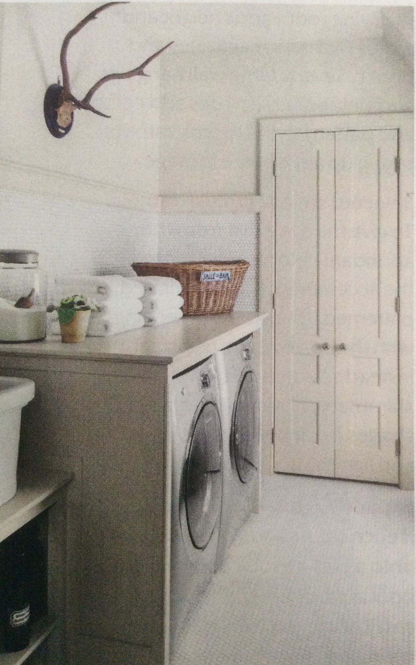 Laundry room Jeannette Whitson via Southern Living