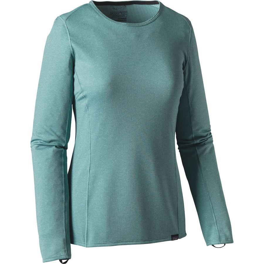 Capilene Midweight Crew Top Women S Womens Outdoor Clothing Patagonia Womens Outdoor Outfit [ 900 x 900 Pixel ]