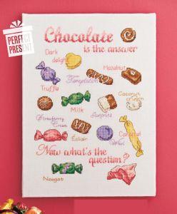 Sorun ne olursa olsun, çözüm çikolata  Şablonun büyük halini görmek için aşağıdaki resimlere tıklayın.