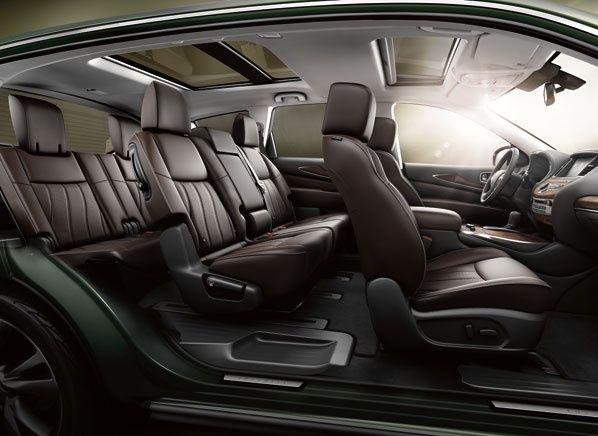 Infiniti JX interior - seats 7 Interior bentley brown dark refined clean leather stylish classy sober elegance