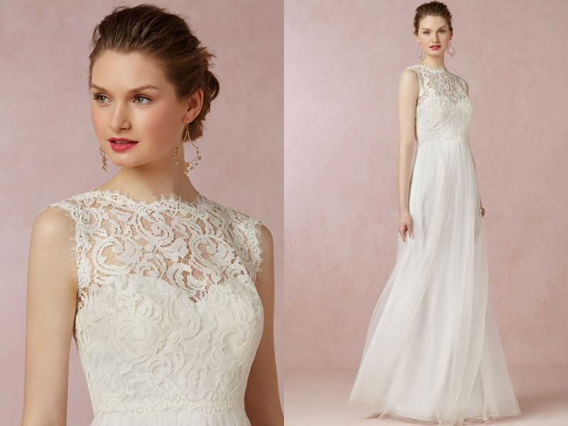 Mix and Match - Create Your Own Wedding Gown! 15 Totally Chic Crop ...