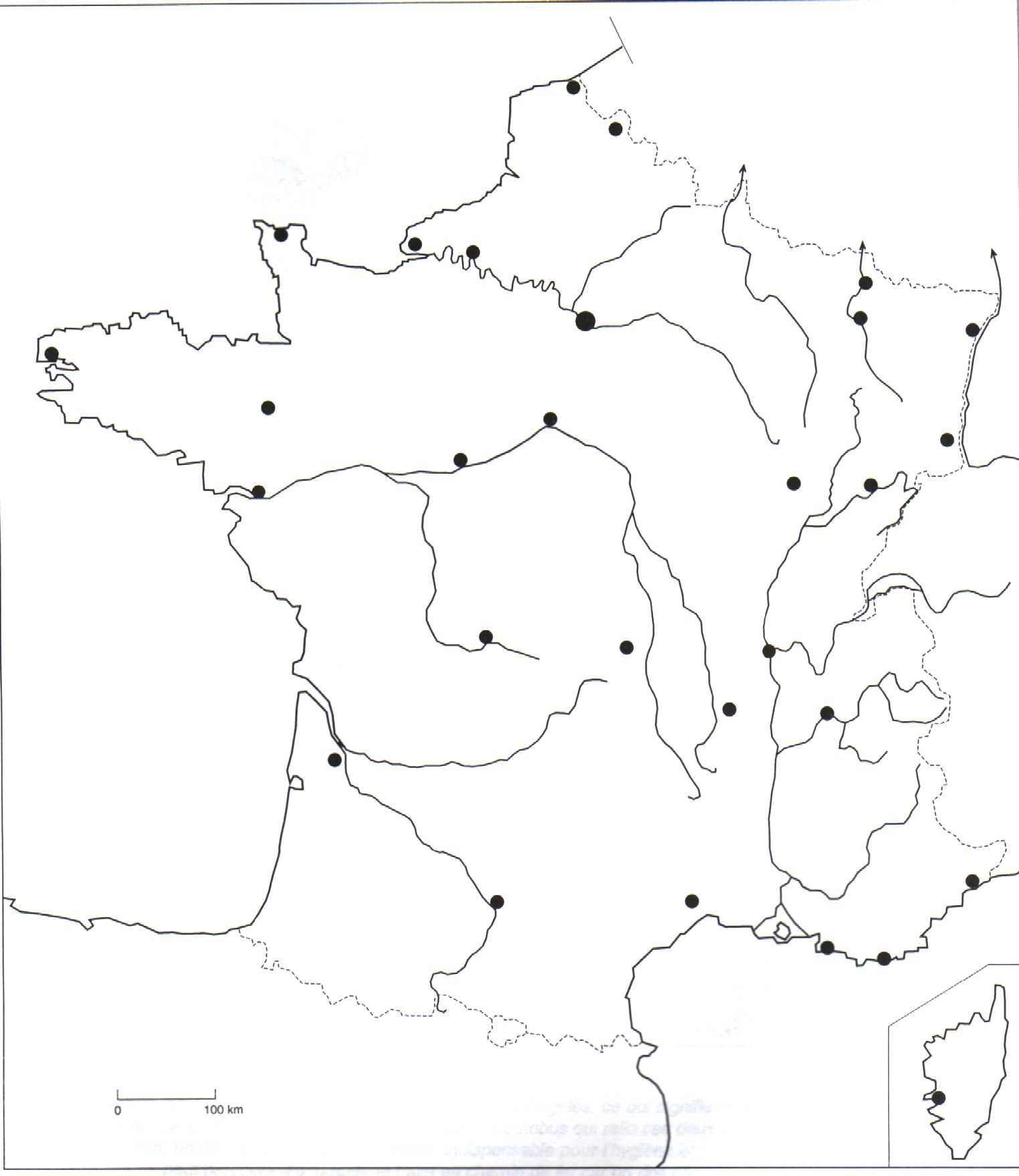 Larger Map Road Trip France France Itinerary France Train