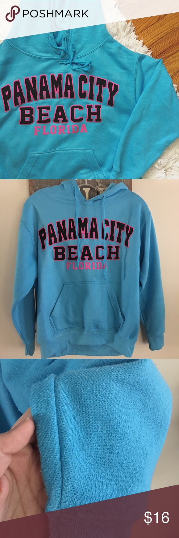 Panama City Beach Florida Hoodie Cute Hoodie Purchased In Panama City Beach Fl Size Small True To S Cute Hoodie Sweatshirts Hoodie Panama City Beach Florida