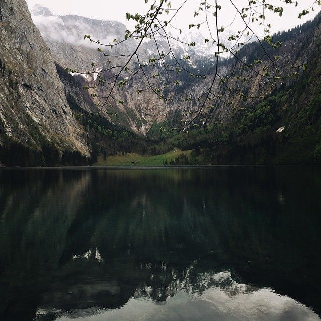 Amazing #mountains #Alps #lake #obersee #nature #hiking #mirror #sky #berchtesgaden #germany #travel
