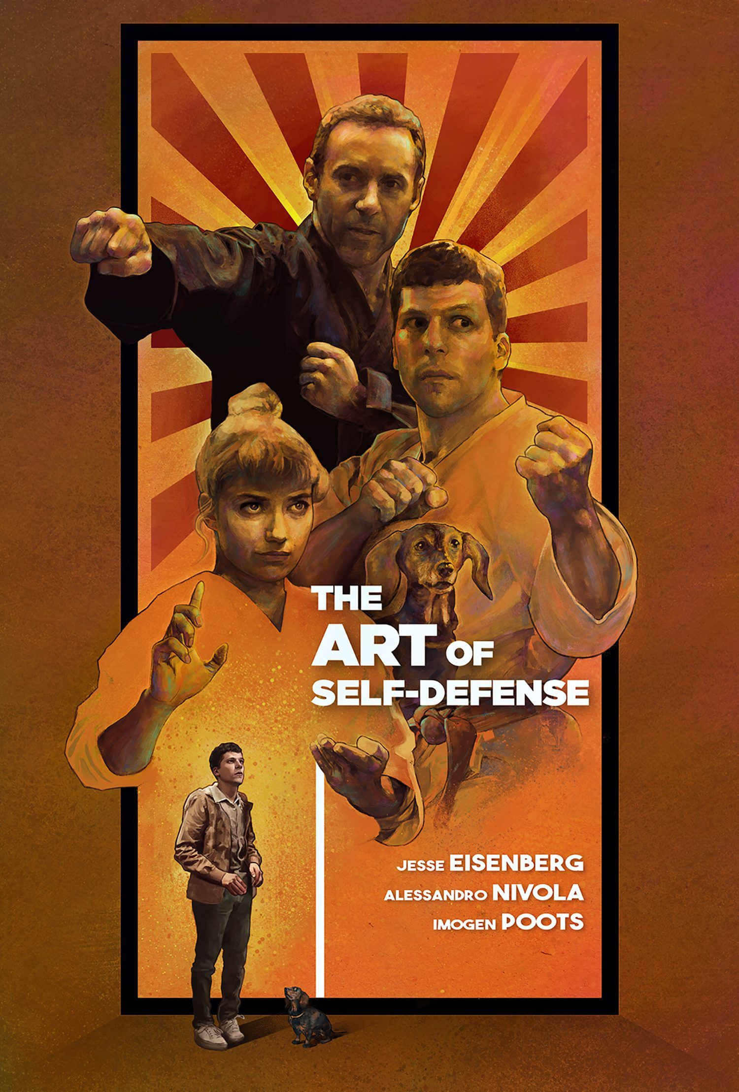 11 De Octubre The Art Of Self Defense 2019 Dir Riley Stearns