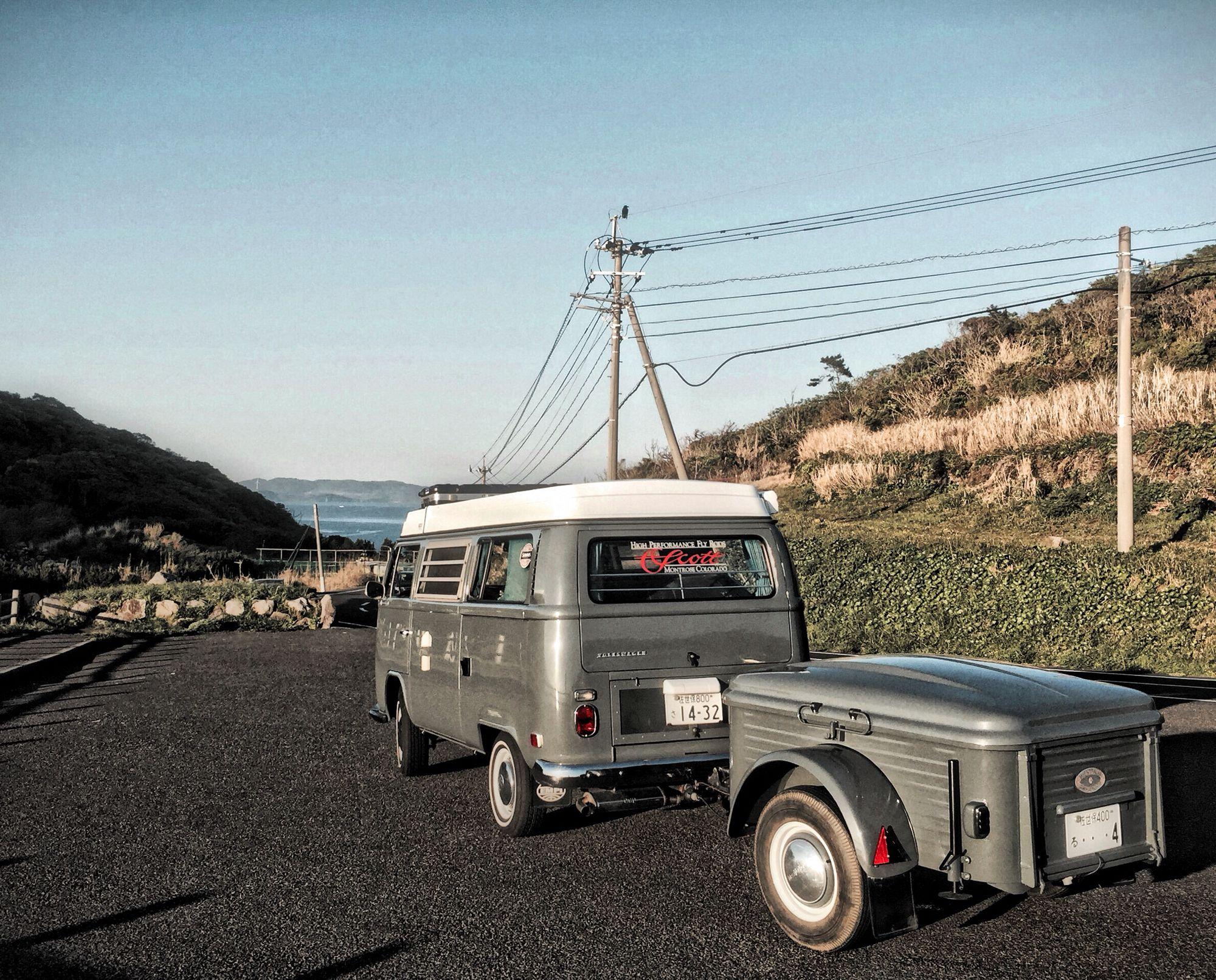 remolque de camping westfailia vintage