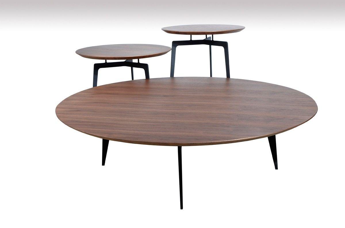 Modrest Jetson Modern Walnut Coffee Table Set Walnut Coffee Table Modern Wooden Coffee Table Walnut Coffee Table [ 795 x 1200 Pixel ]