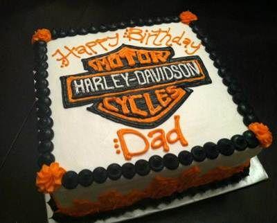 harley davidson cake Birthday cakes Pinterest Harley davidson