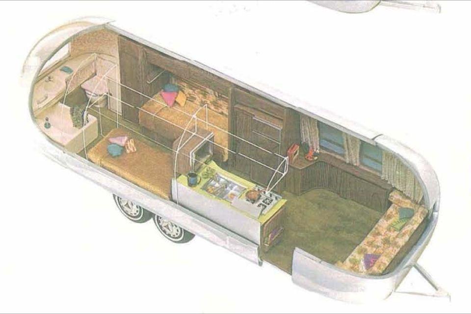 29ft 1972 Airstream Ambassador Twin Airstream Full Time Rv Caravans