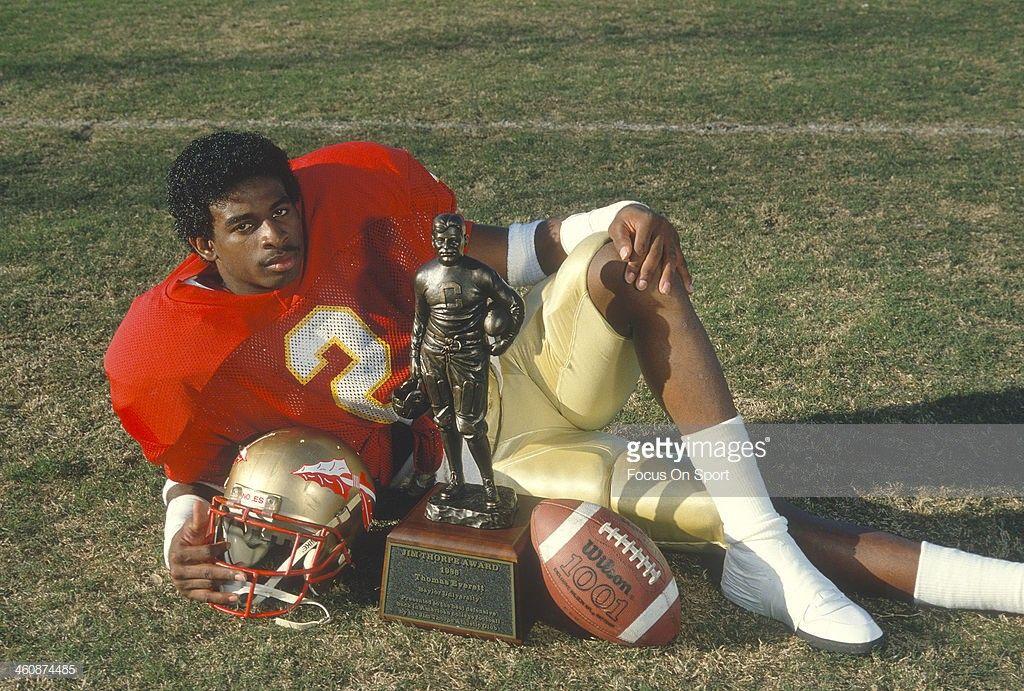 Deion Sanders aka Primetime. Jim Thorpe award winner FSU