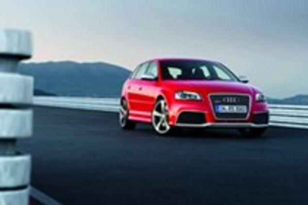 Audi Rs3 Die Ersten Bilder Des Kompakten Sportwagens Mit 340 Ps