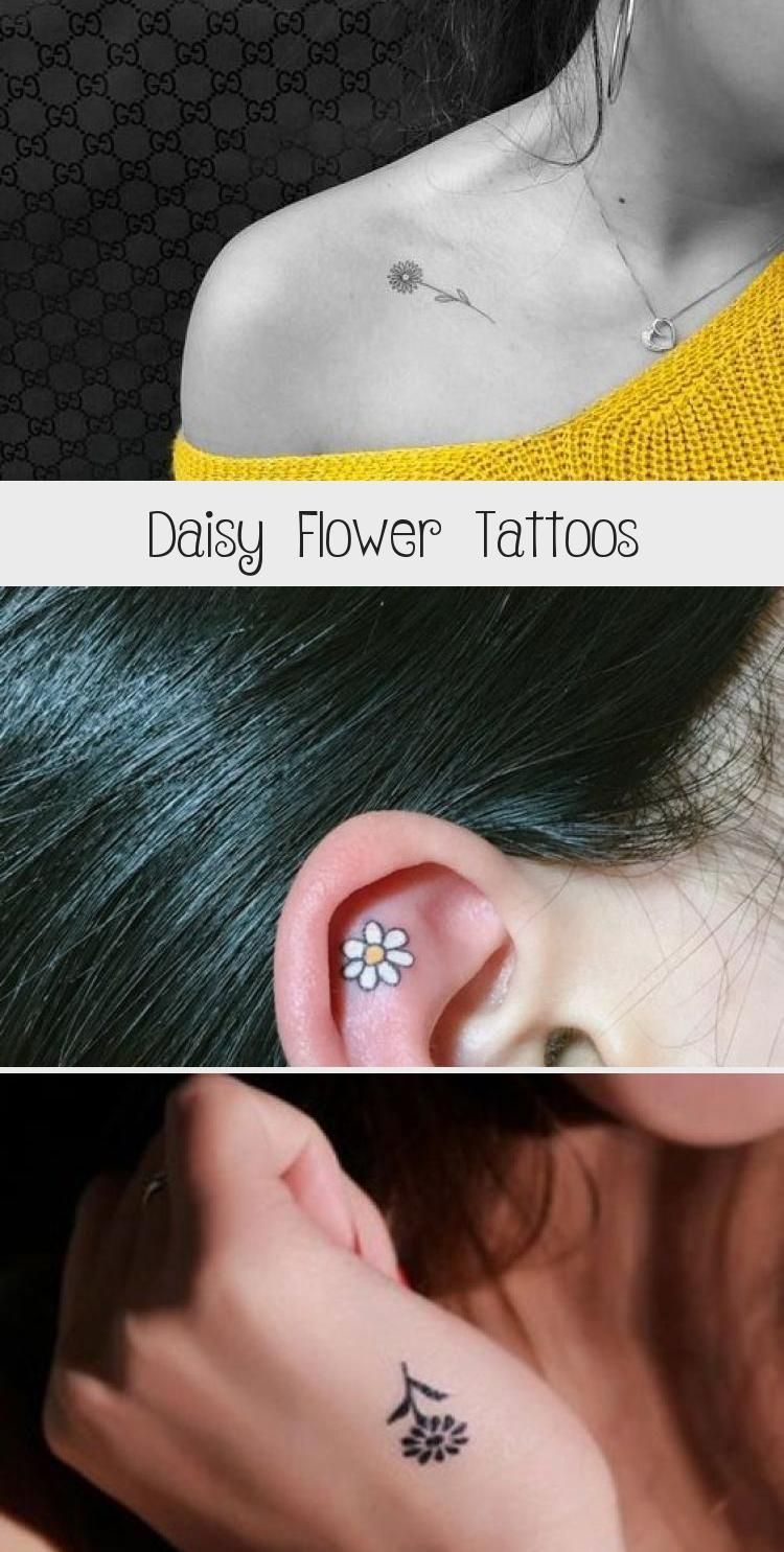 Daisy Flower Tattoo Meaning and Designs   #Daisy #Flower #Tattoos #DaisyFlower #... -  Daisy Flower Tattoo Meaning and Designs   #Daisy #Flower #Tattoos #DaisyFlower #… –  Daisy Flow - #daisy #daisyflowertattoos #Daisyflower #designs #flower #Meaning #nameflowertattoo #Tattoo #tattoobaby #Tattoos