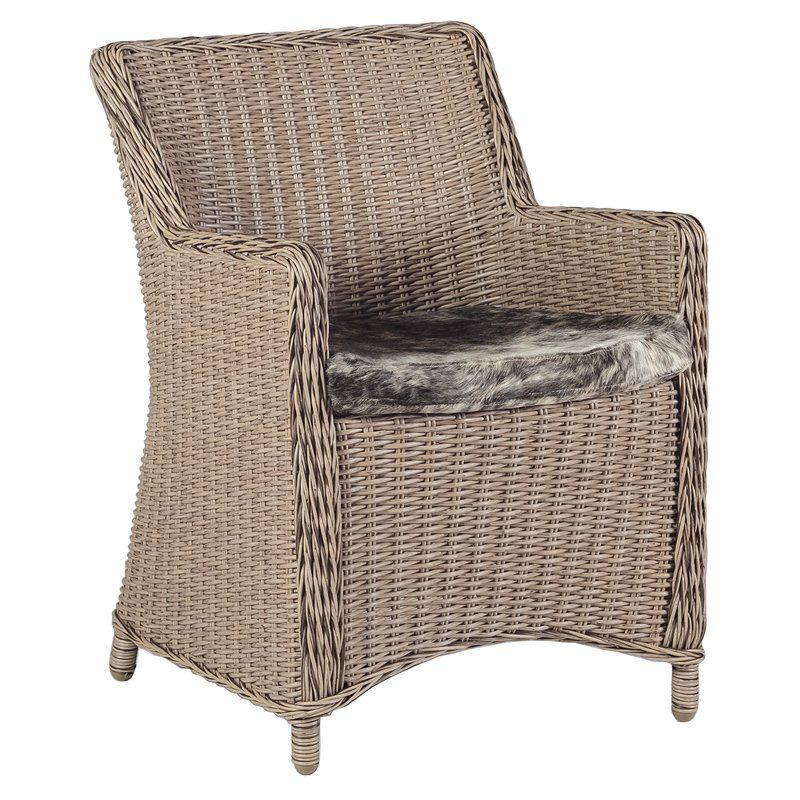 Gabby smith wicker accent chair indoor chairs