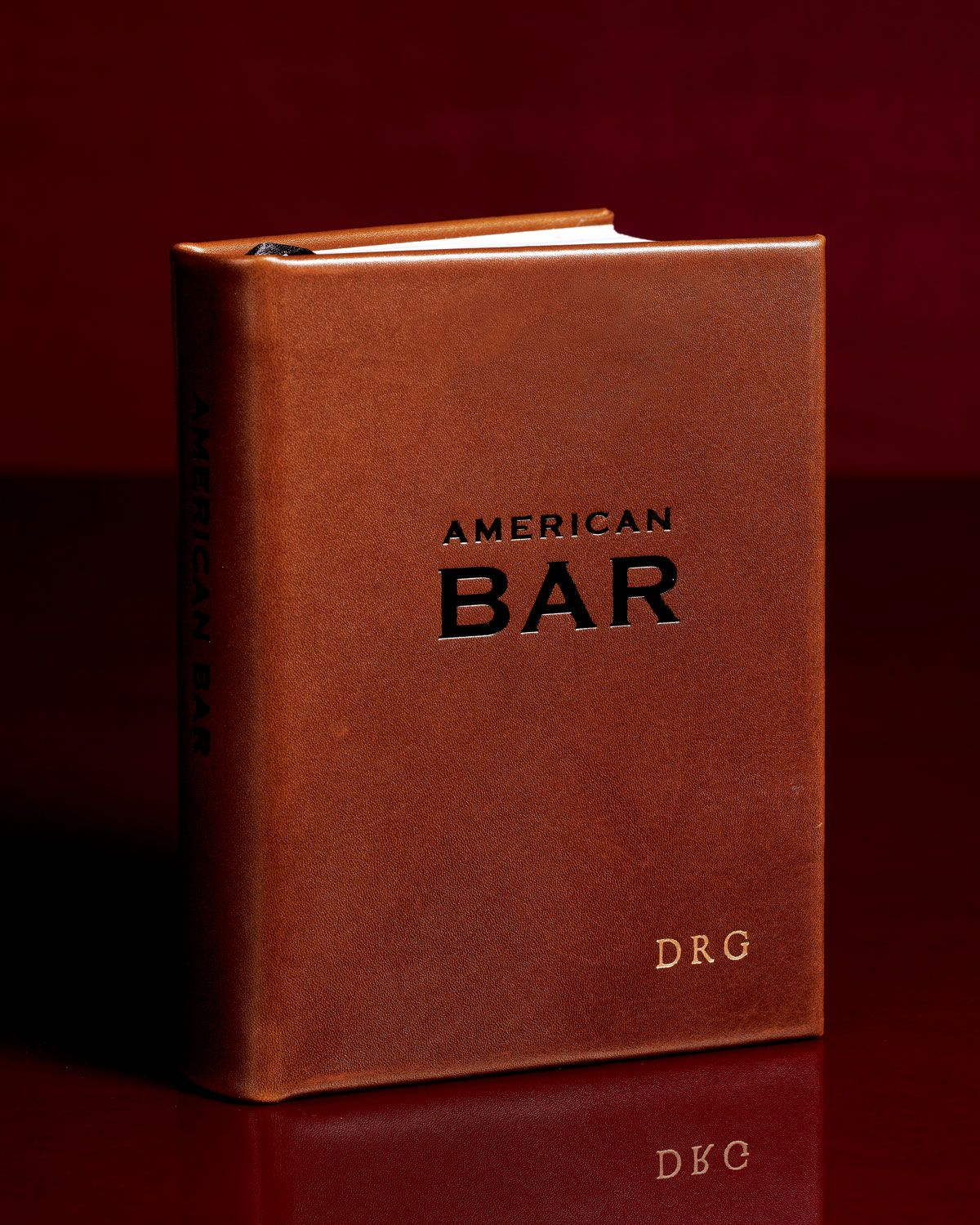 American bar book mix drinks like a pro this leather bound american bar book mix drinks like a pro this leather bound reference negle Image collections