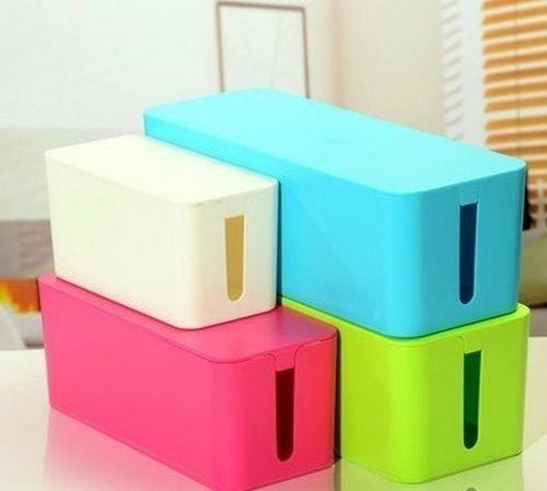 Caja grande esconde cables zapatilla ideal proteccion dise o cajas para cables pinterest - Caja para ocultar cables ...