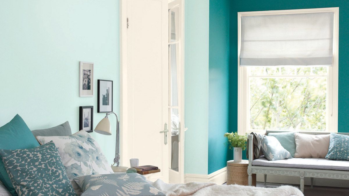Ocean ripple lounge bedroom rooms dulux for the for Dulux paint ideas bedroom
