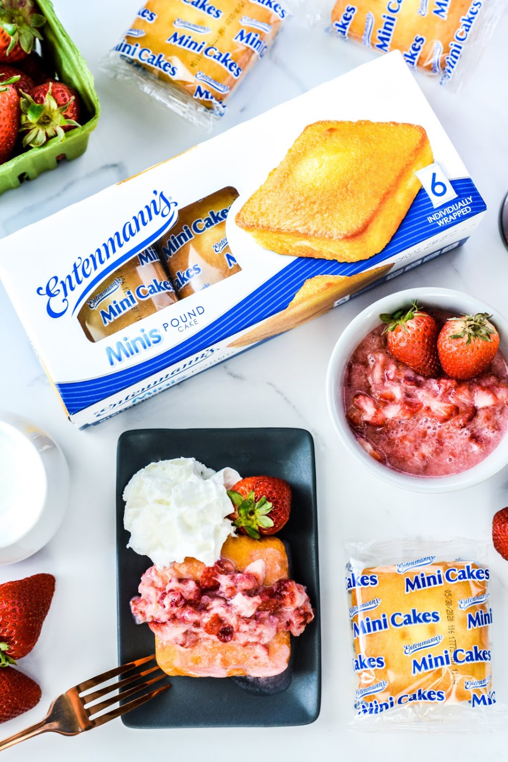 Celebrate Spring with Entenmann's Minis + Strawberry Shortcake for 1 recipe #sponsored #Entenmanns #SweetMemoriesSweepstakes #giveaway