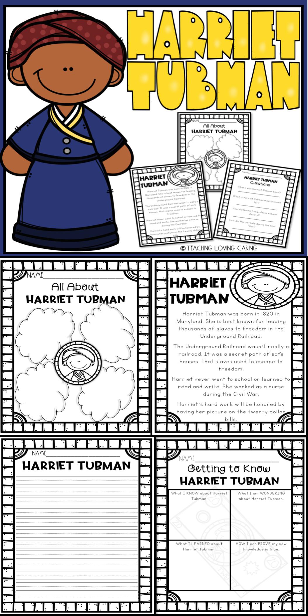 Harriet Tubman Activities