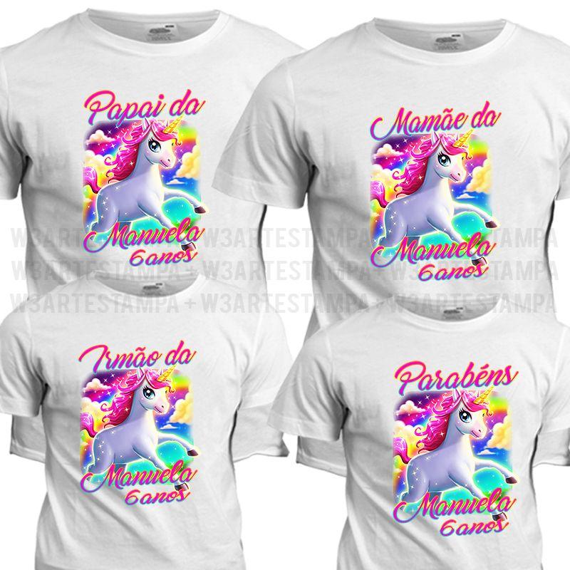 741f7730d Camisetas Personalizadas Unicórnio Qualquer quantidade que desejar  Informações Zap - 21-98388-0106 Click