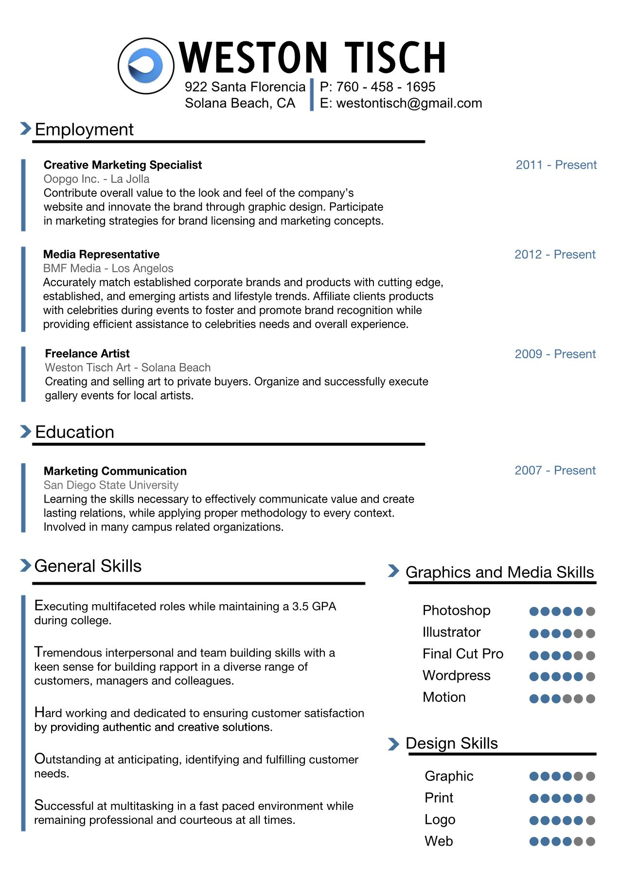 Pin By Chintana Voravong On Resume Resume Infographic Resume