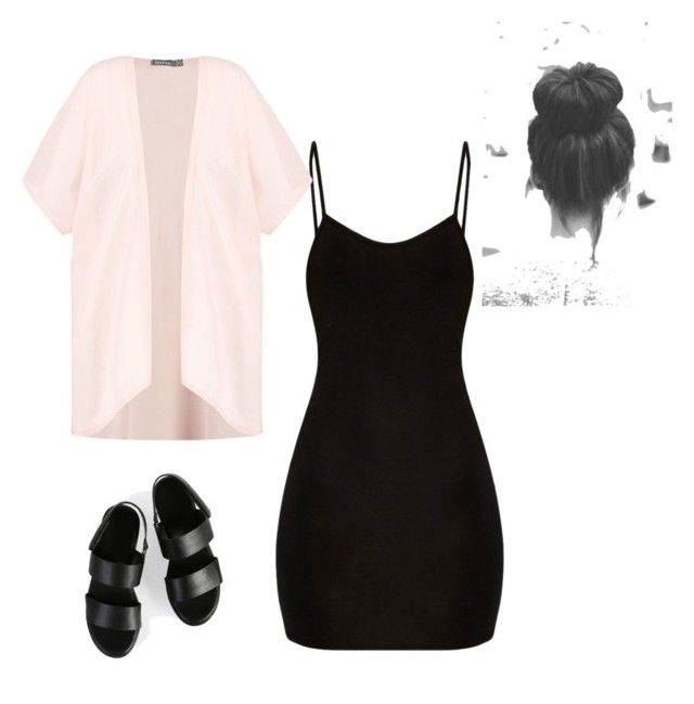 """""""*"""" by classyybabe on Polyvore featuring Boohoo"""