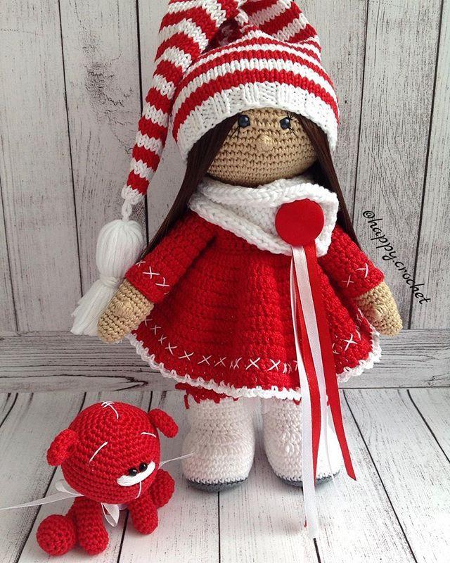 Instagram Post by Kseniya Kornilova (@happy.crochet) | Puppe, Puppen ...