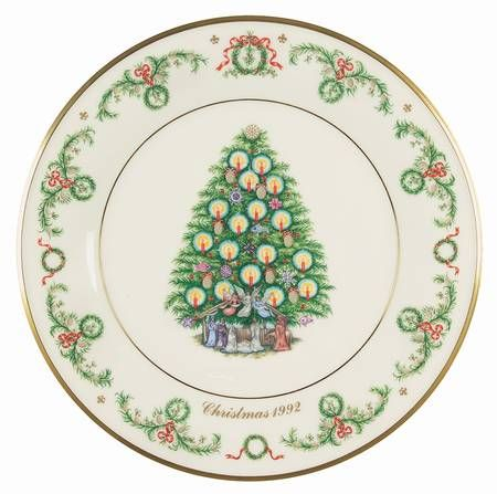 lenox christmas trees around the world france boxed
