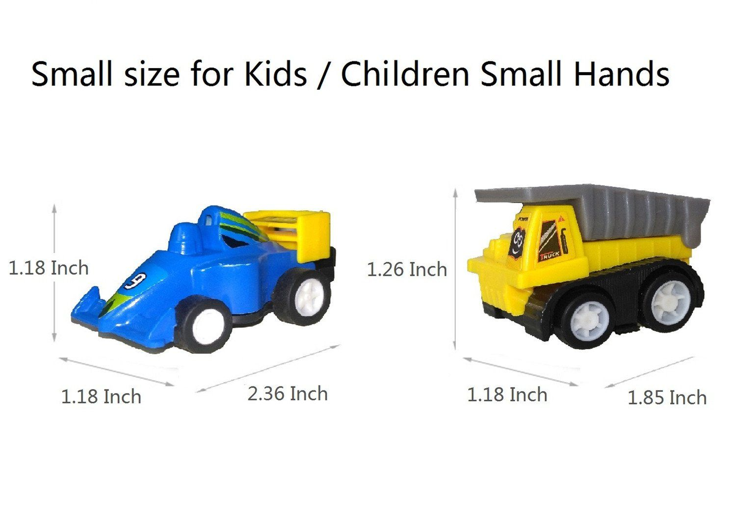 Winone Pull Back Carsmini Toy Cars 3 4 5 Year Old Boy Toys Car 12