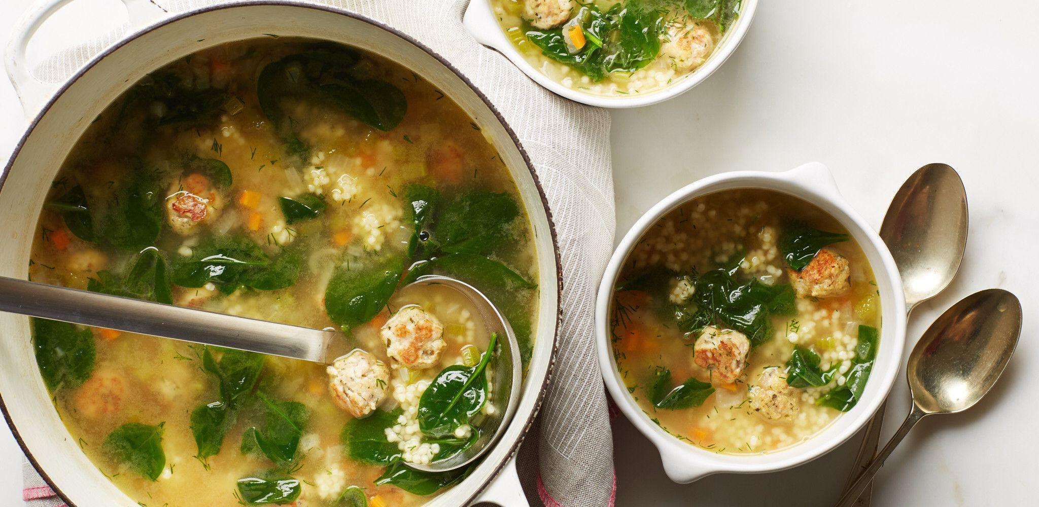 Italian Wedding Soup Recipe in 2020 Wedding soup, Food