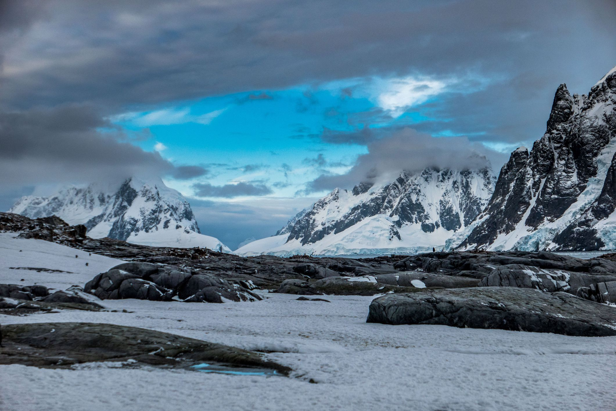 Although Antarctica Is Almost Entirely Covered By Glaciers