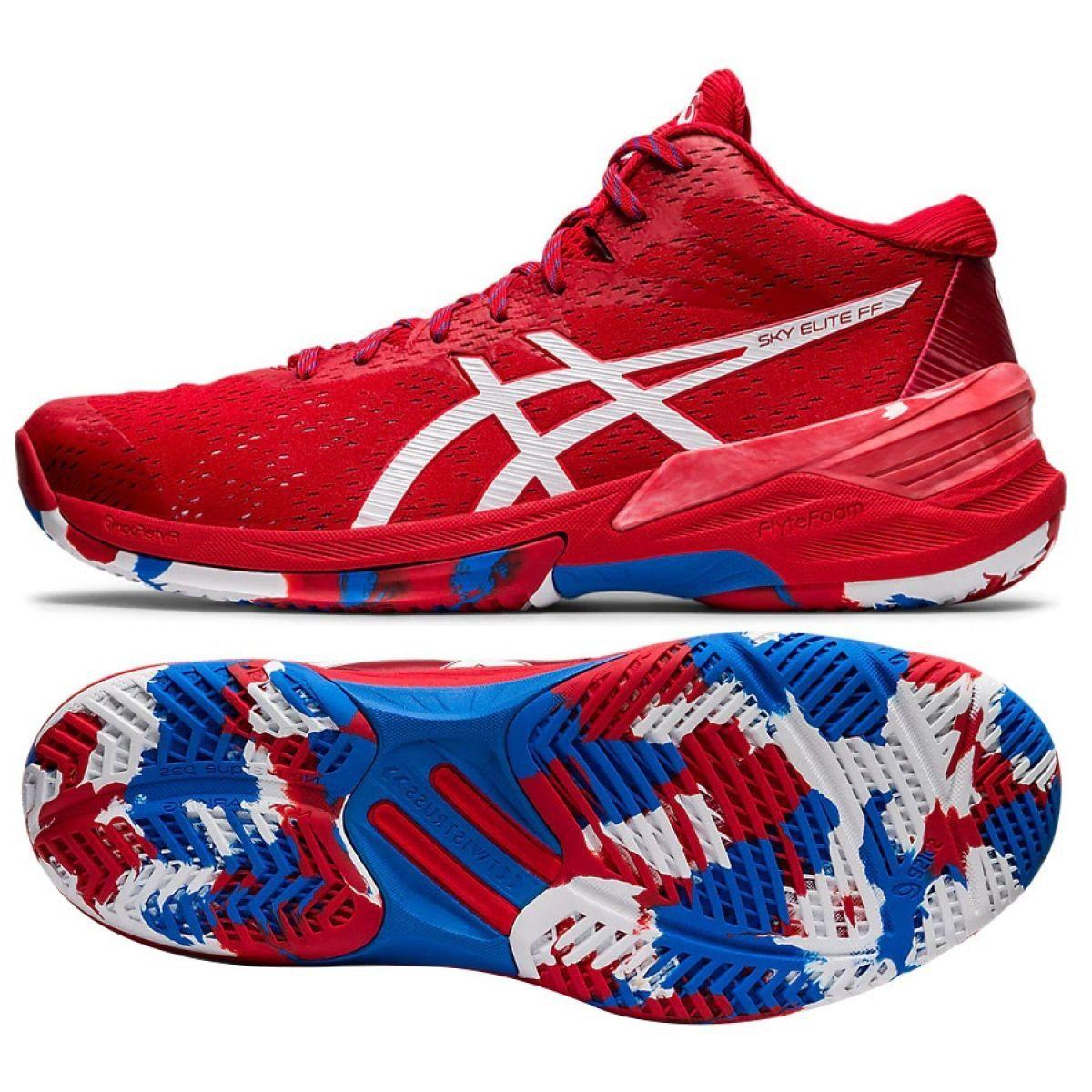 Buty Asics Sky Elite Ff Mt L E M 1051a040 600 Czerwone Czerwone Asics Asics Sneaker Shoes