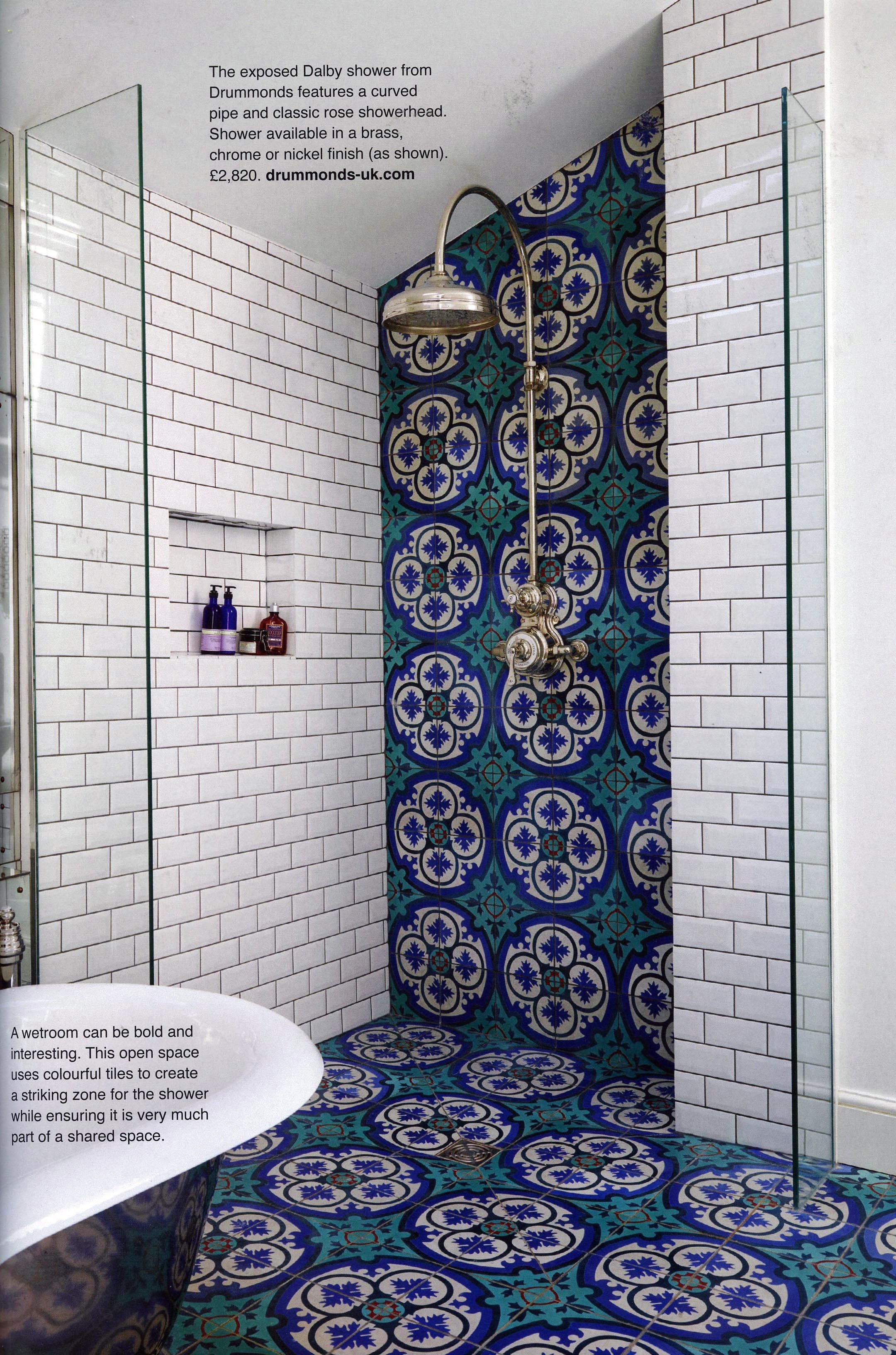 The Elegant Dalby Shower From Drummonds Http Www Drummonds Uk Com Utopia Kitchen Bathroom August 2016 Latest bathroom ceramic motif