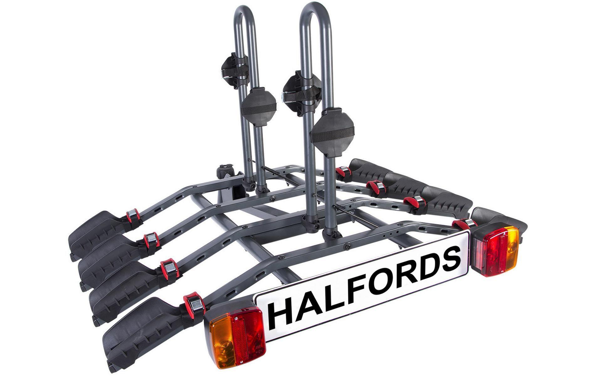 Halfords 4 Bike Tow Bar Cycle Carrier Bike rack, Cycle