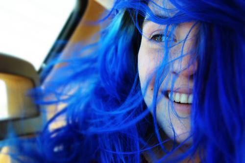 BEATIFUL!!! #blue hair
