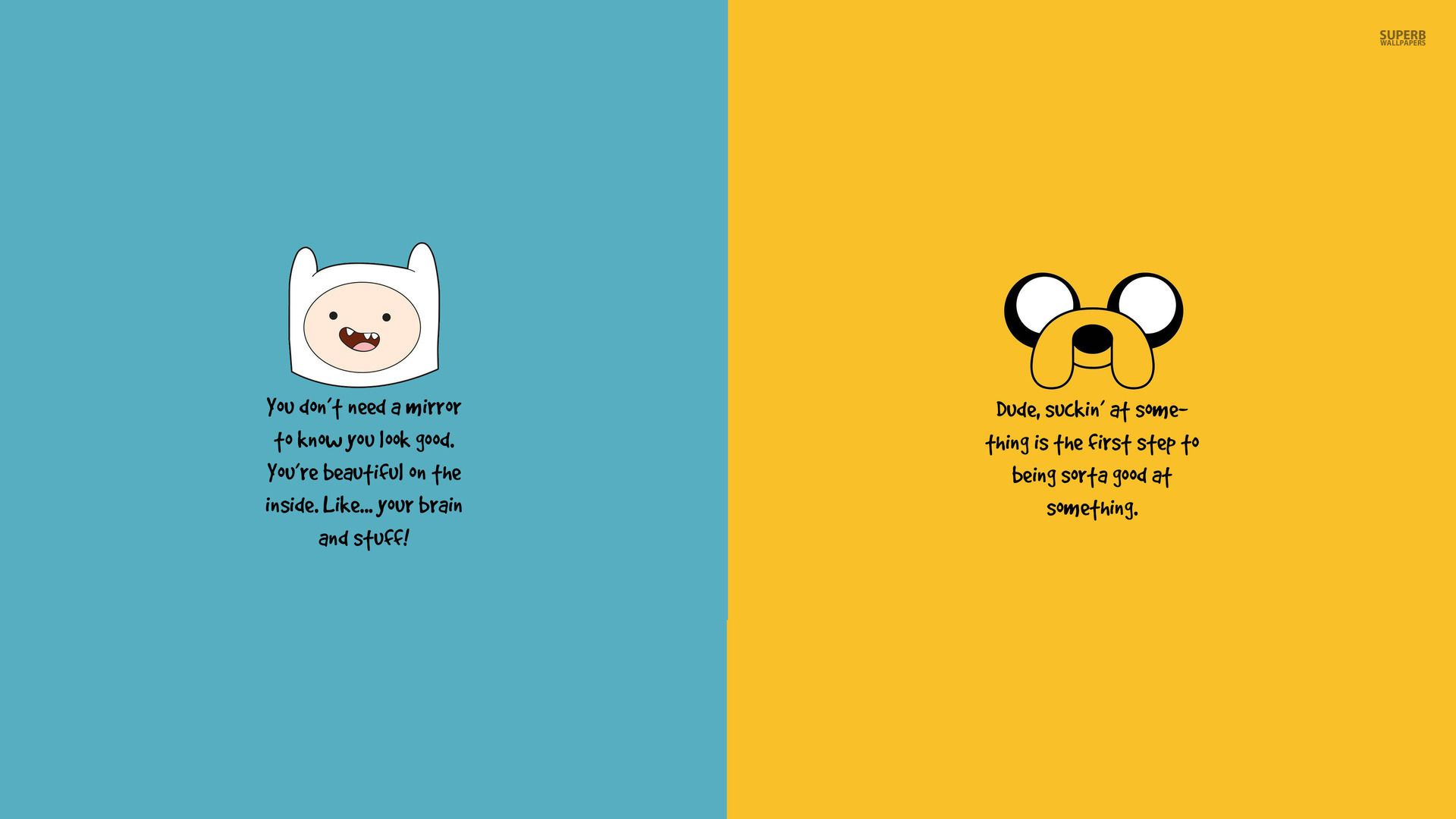 Attractive Adventure Time Motivation Wallpaper   Quote Wallpapers   #
