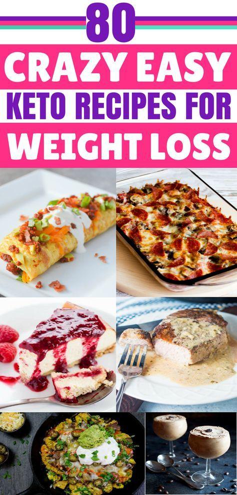 80 Easy Keto Recipes For Your Ketogenic Diet #ketorecipesforbeginners