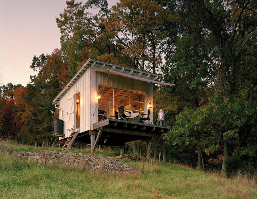 Captivating The Shack At Hinkle Farm   West Virginia   Weekend Retreat   Broadhurst  Architects Inc   Exterior   Humble Homes Good Ideas